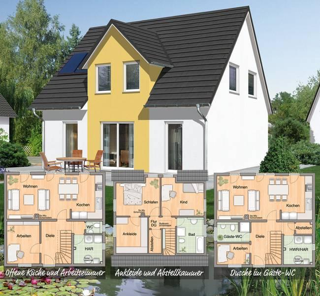 Moderne Familienhäuser: flexibel, lebensnah und bezahlbar