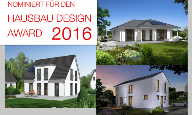 Town & Country Haus für 3. Hausbau Design Award nominiert