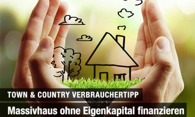 Massivhaus ohne Eigenkapital finanzieren