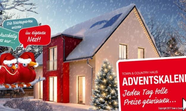 Online-Adventskalender von Town & Country Haus gestartet!