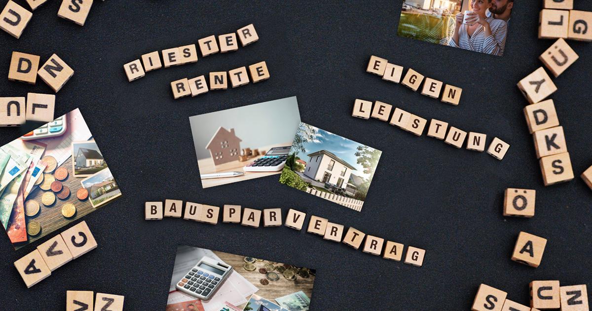 Baufinanzierung: Auch Eigenleistungen, Bausparvertrag oder Riester-Rente sind Eigenkapital
