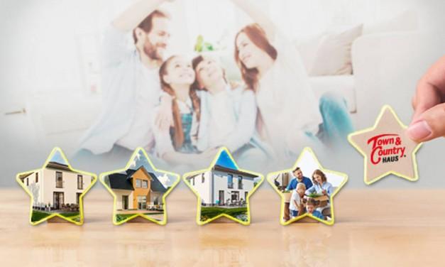 Kundenzufriedenheit bei 100 % – Town & Country Haus ist Testsieger seiner Branche